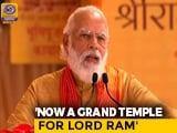 Video : 'Jai Siya Ram' Chant Resonating Throughout The World, Says PM Modi