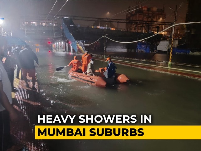 Video : Mumbai Whipped By Winds At Cyclone Speed Of 107 Kmph, Heavy Rain