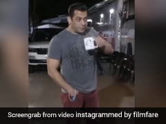 सलमान खान सेट पर आराम से पी रहे थे कॉफी, अचानक देने लगे ऐसे एक्सप्रेशंस- देखें थ्रोबैक Video