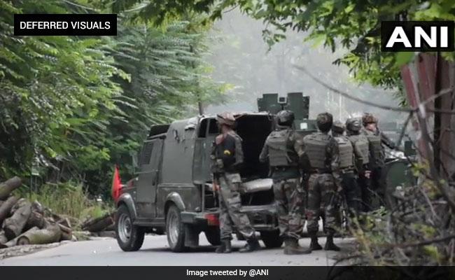 सुरक्षा बलों के बीच मुठभेड़ का तोड़, जम्मू-कश्मीर के बारामूला में आतंकवादी