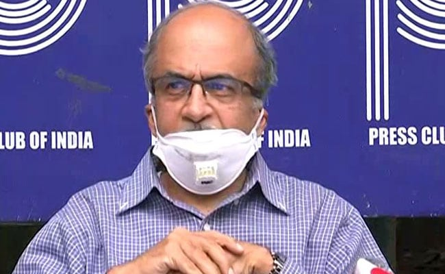 'Regret Error': Prashant Bhushan After Tweet On Chief Justice Of India