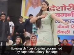 Sapna Choudhary ने खचाखच भरे स्टेडियम में हरियाणवी गाने पर किया डांस, Video ने मचाई धूम