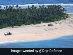 SOS In The Sand Saves 3 Men Stranded On Tiny Pacific Island