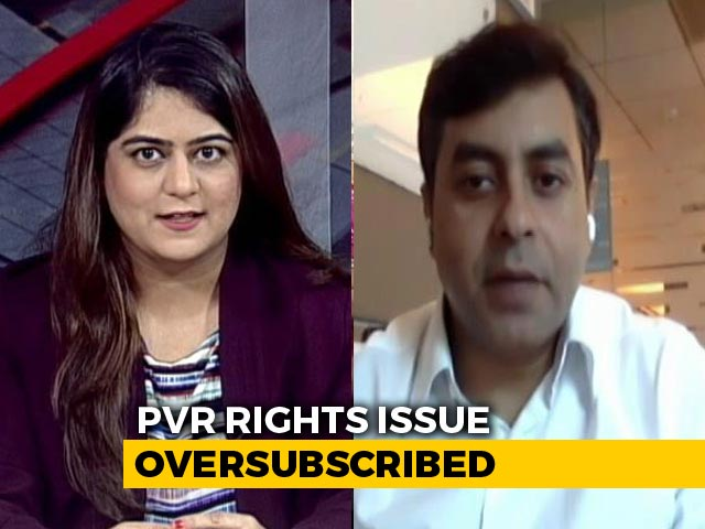 Video: PVR Rights Issue Subscribed More Than 2 Times