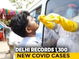 Video : With 1,300 Cases, Delhi's COVID-19 Count Cross 1.45 Lakh, Death Reach 4,111