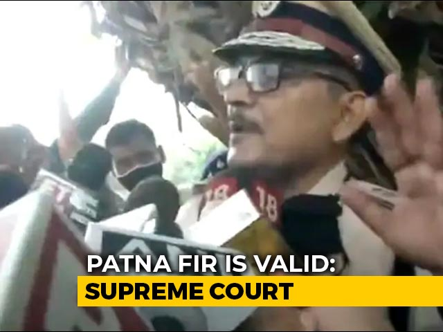 """Video : Bihar Police Chief's Controversial """"Aukat"""" Comment On Rhea Chakraborty"""