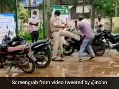 Andhra Pradesh Police Inspector Suspended For Allegedly Kicking Dalit Man