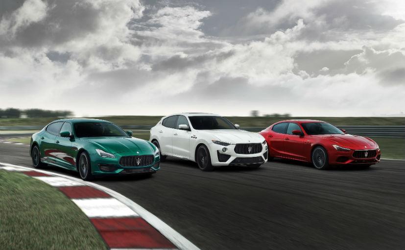 The Maserati Trofeo range use the Ferrari-sourced 3.8-ltre V8 engine with 572 bhp and 730 Nm