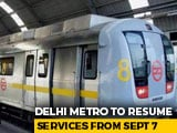 Video : No Tokens, Smart Cards Mandatory : Delhi Metro To Open With Severe Curbs