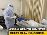 Video : Assam Health Minister Meets Covid +ve Mentor-Turned-Rival Tarun Gogoi In PPE