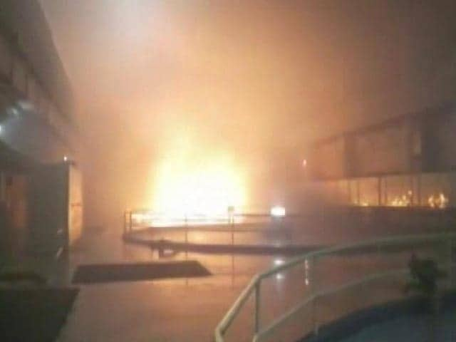 Video : 9 Dead In Fire At Telangana Hydroelectric Plant