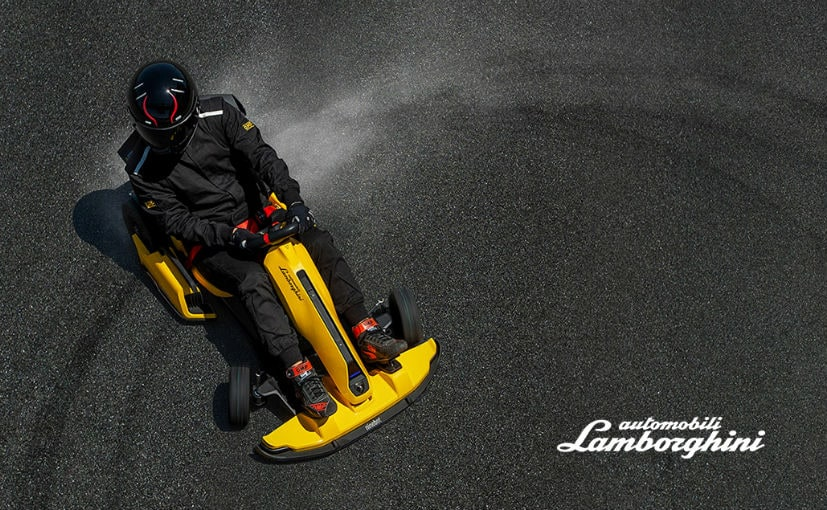 The Ninebot GoKart Pro Lamborghini Edition has a top speed of 40 kmph