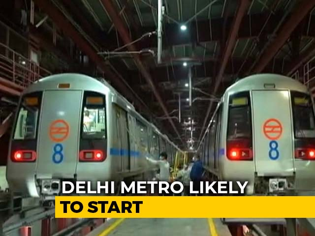 Video : Centre May Allow Metro Trains In Unlock4, Final Call With States: Sources