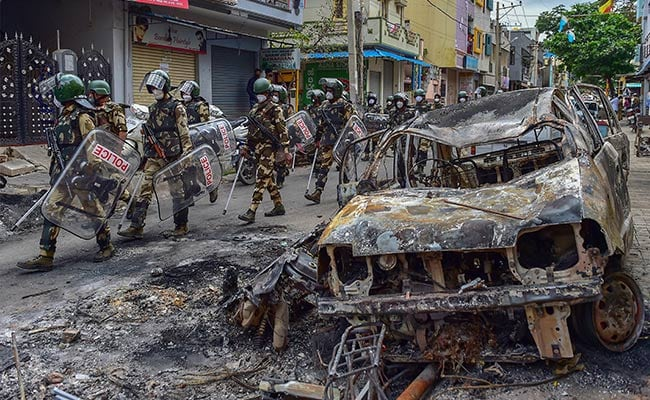Rioters Took Advantage Of Rivalry Within Congress: Karnataka Minister