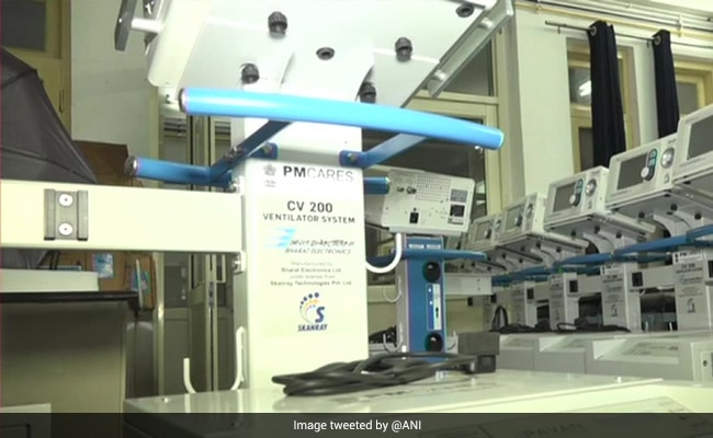 Over 36,000 India-Made Ventilators Now At Government Hospitals: Centre