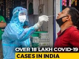 Video : Coronavirus Cases In India Cross 18-Lakh Mark, 38,135 Deaths