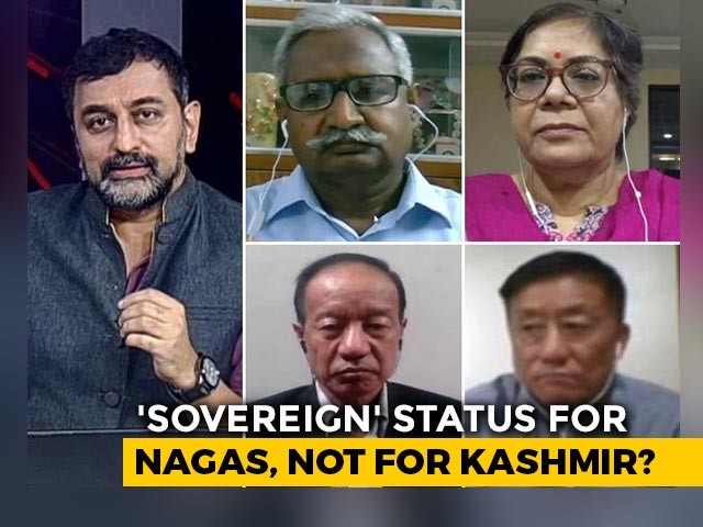 Video : Reality Check: Naga Talks On Brink?