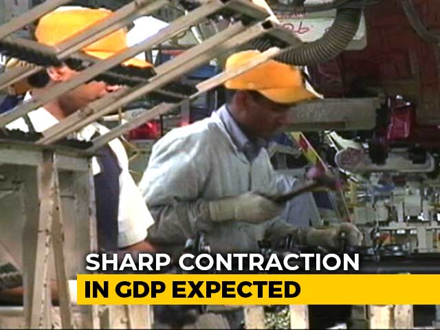 Video: Sharp Contraction Expected In India's GDP: Economists