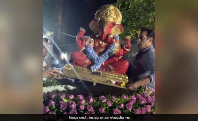 Ganesh Chaturthi 2020: Inside Salman Khan And Family's Visarjan Celebrations