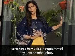 Sapna Choudhary पर चढ़ा बरसात का खुमार, बारिश में ऋतिक रोशन का स्टेप करती आईं नजर- देखें Video