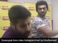 Arjun Kapoor से आर जे ने पूछा ऐसा सवाल, एक्टर ने जड़ दिया जोरदार थप्पड़ और तोड़ डाला कैमरा- देखें Video