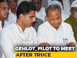 "Video : Ashok Gehlot, Sachin Pilot ""Reunion"" Tomorrow? First Meet After Revolt"