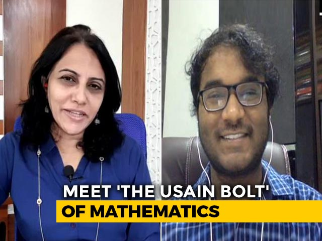 Video : Mathematics Wizard, 20, On Helping Others Get Over 'Maths Phobia'