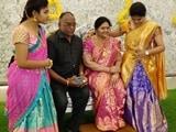 Video : Karnataka Industrialist Stuns Guests With Startlingly Lifelike Statue Of Wife