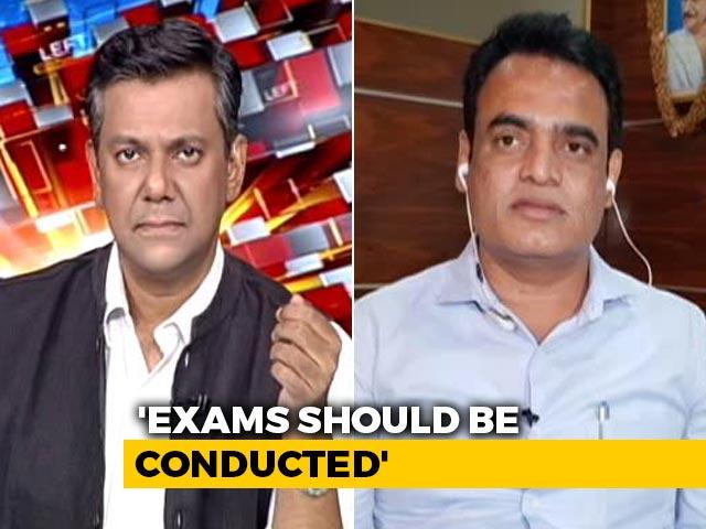 Video : Don't Postpone Exams, Says Karnataka Deputy Chief Minister