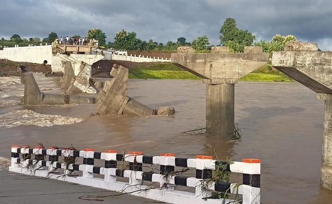 In Madhya Pradesh, New Bridge Collapses Amid Heavy Rain