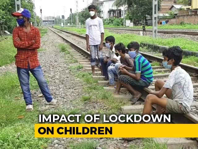 Video : Hit By Coronavirus Crisis, Children In Guwahati Slum Trade Books For Work