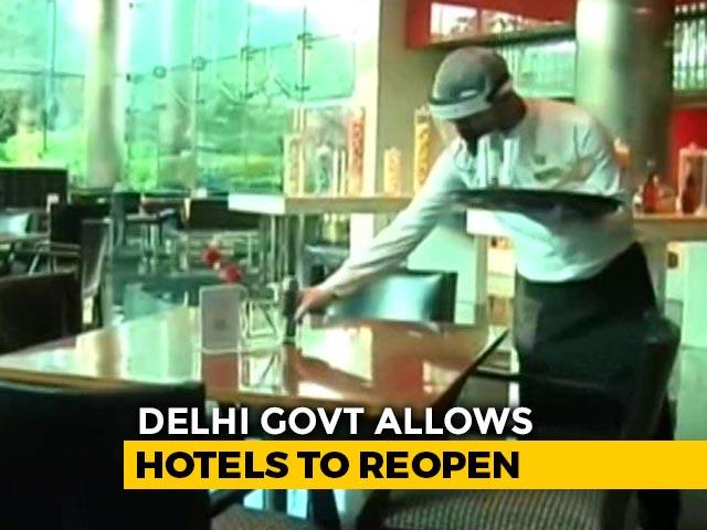 Video : Delhi Hotels Reopen After 5 Months