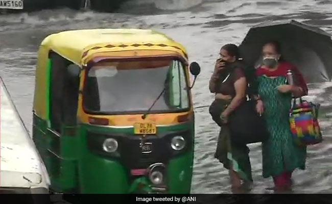 Delhi, Neighbouring Areas Get Intense Rainfall