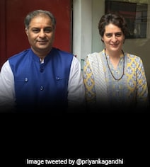 Congress Leader Rajiv Tyagi Dies, Priyanka Gandhi Tweets 'Personal Sorrow'