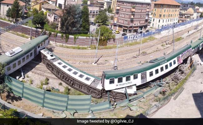 Train Derails After Leaving Italy Station With No Driver And A Passenger