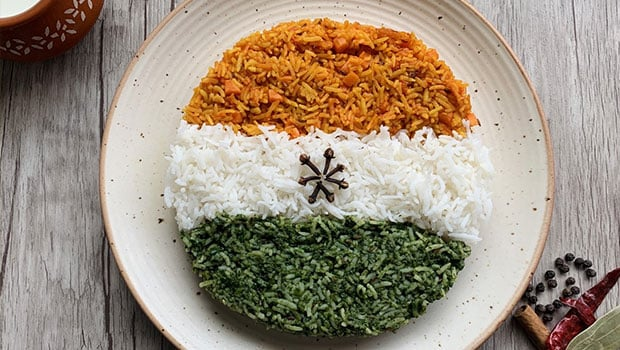 Independence Day Special: Celebrate Independence Day By Making 3-Layered Tiranga Pulao At Home, Here Is Easy Recipe