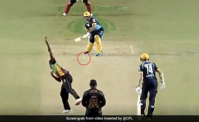 CPL 2020: राशिद खान ने अजीबोगरीब तरह से जड़ा छक्का, खड़े-खड़े घुमाया बल्ला और फिर... देखें Video