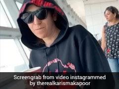 करिश्मा कपूर एयरपोर्ट पर कॉफी लेकर मस्ती करती आईं नजर, पहचानना हुआ मुश्किल...VIDEO