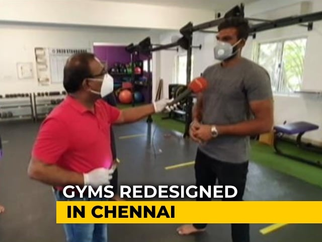Video : Chennai Gyms Getting A Makeover Ahead Of Reopening