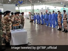 Independence Day Celebrated At 10,000-Bed COVID Care Centre In Delhi