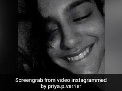 Priya Prakash Varrier ने रात के अंधेरे में 'इन्ना सोहणा' गाने पर बनाया Video, क्यूट एक्सप्रेशंस देती आईं नजर