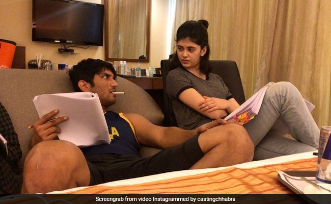 This BTS Video Of Sushant Gave 'Dil Bechara' Actress