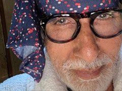 Amitabh Bachchan Posts A Selfie For The First Time Since He Returned Home From Hospital