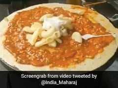 Red Sauce Pasta Dosa Is The Latest Culinary Creation To Divide Twitter