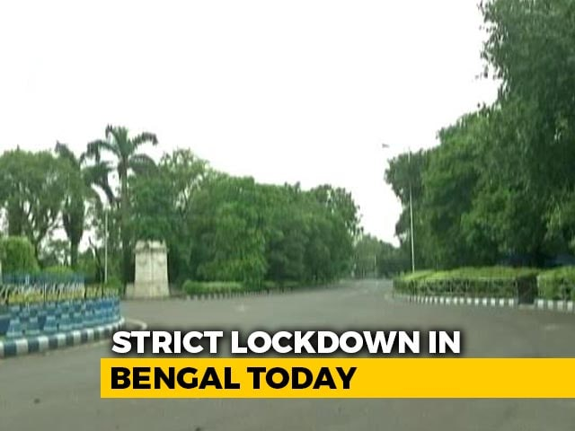 Video : Strict 2-Day Lockdown In Bengal From Today