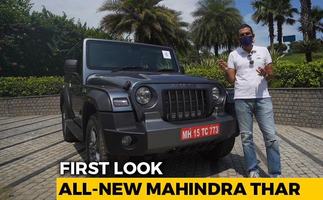 Video : 2020 Mahindra Thar First Look