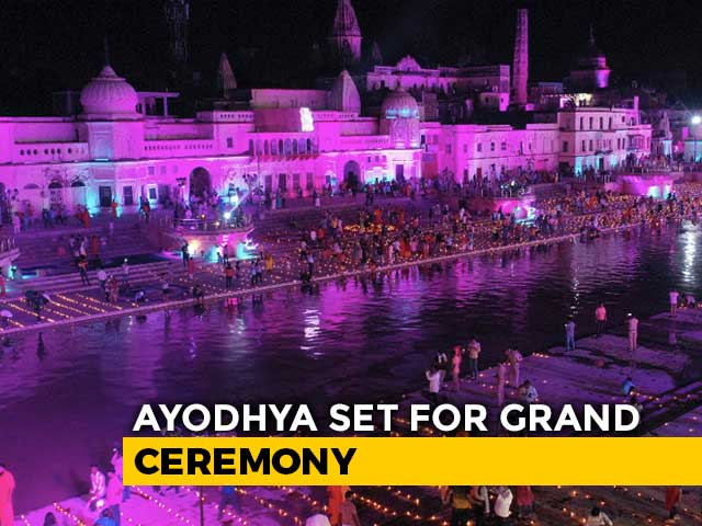 Video : On Eve Of Grand Temple Event, Ayodhya Prepares For Its Future