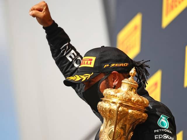 Lewis Hamilton Wins His Seventh British Grand Prix On Three Wheels