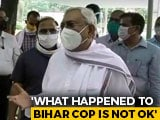 "Video : Patna vs Mumbai Police On Cop's ""Forced Quarantine""; Nitish Kumar Speaks"