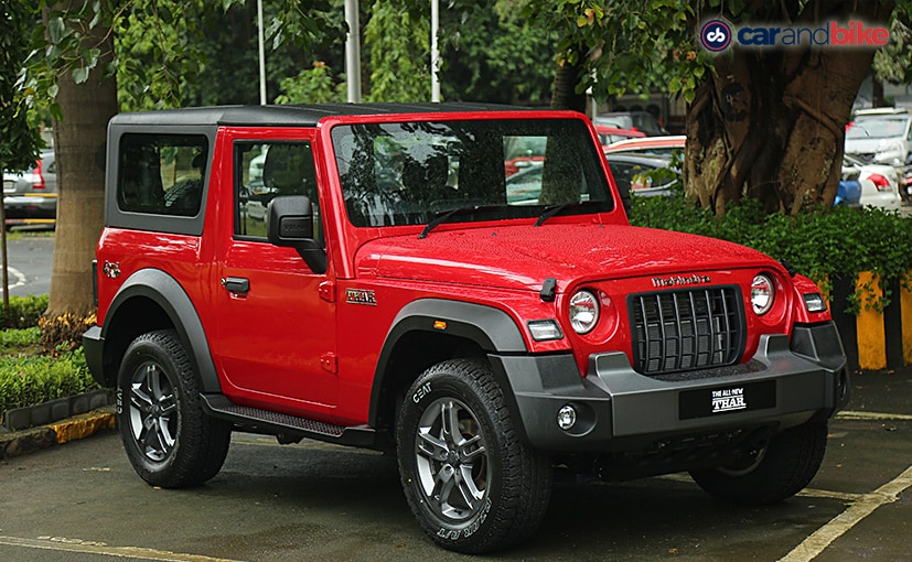 The new Mahindra Thar gets three trims which are AX, AX Optional and LX